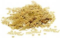 Gold Just Married Table Confetti (14g)